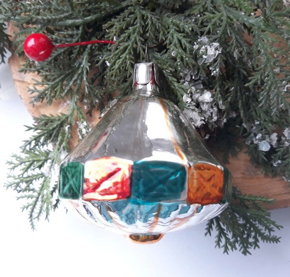 image 0 - Antique Christmas Ornament 1950s Christmas Decorations Etsy
