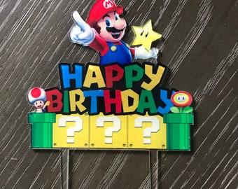 Pâte de Sucre Fondant Icing Officieux Super Mario-Yoshi Style cake topper