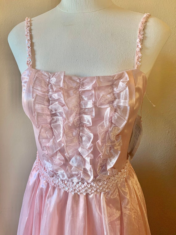 New with Tag Pink Tulle Vintage Gunne Sax Dress