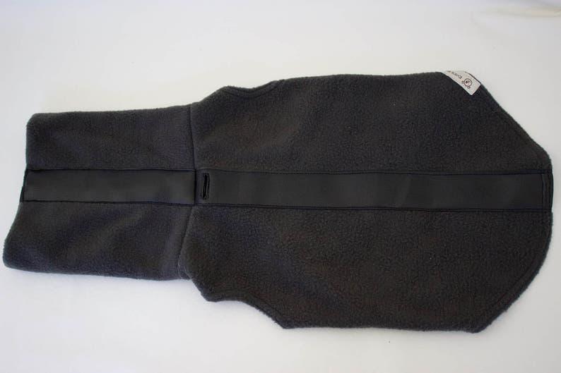 Dog HoodieScarf-Dog Clothes Custom Dog Hoodie with Leather Trim-Dog Fleece Sweater