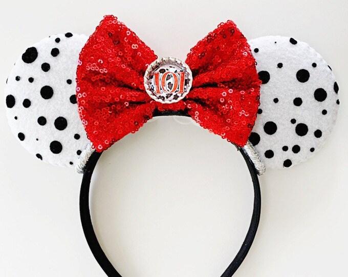101 Dalmations Minnie Ears | 101 Dalmations Headband