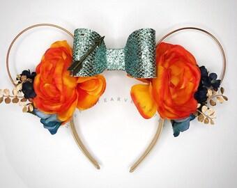 Princess Merida Brave Ears/ Brave minnie Ears/ Merida Disney Ears