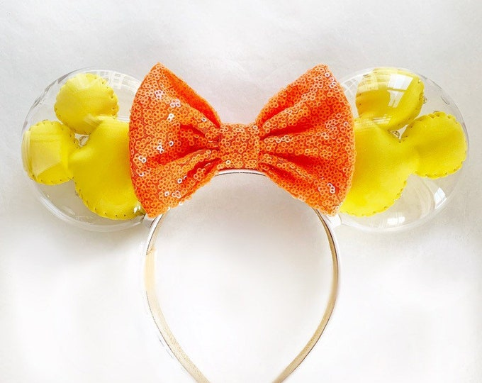 Mickey Balloon Ears | Yellow and Orange Mickey Balloon Ears | Balloon Ears | Disney Lover Gift