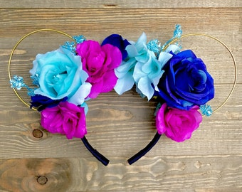Princess Anna Minnie Ears | Frozen Minnie Ears | Anna Frozen Minnie Ears