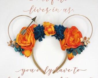 Brave Headband/ Princess Merida/ Minnie Ears