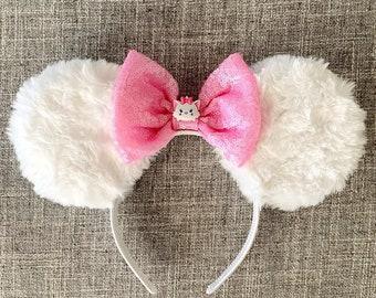Marie Tsum Tsum Minnie Ears | Marie Aristocats Minnie Ears | Marie Minnie Ears