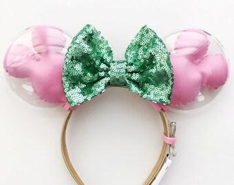 Mickey Balloon Ears | Minnie Ears | Minnie Mouse Ears | Disney Ears | Disney Lover Gift | Mickey Balloons | Fairy Lights