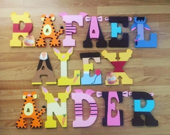 Winnie the Pooh Letters