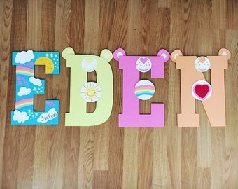Care Bears Letters
