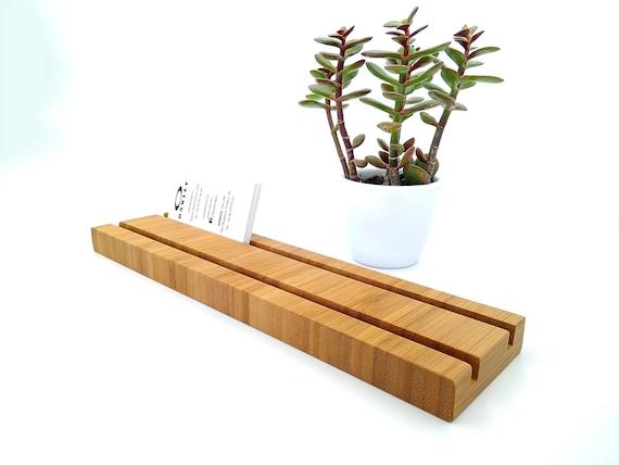 Mehrere Holz Visitenkartenhalter Bambuskartenhalter Holz Visitenkartenstand Office Card Display Bambuskarten Inhaber