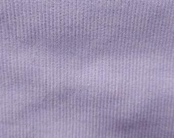 46c05fbeb Lavender Corduroy Material 13 Wale Vtg Fabric Pastel Lilac