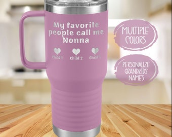Birthday Gifts for Men and Women Nonna Tumbler Nonna Gifts Travel Coffee Mug