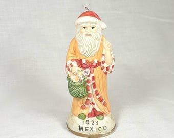Santa of the World Figurine - 1923 Mexico - Ceramic
