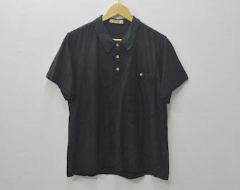 3435aca5827 YSL Tricot Vintage 90's YSL Yves Saint Laurent Polo Shirt Activewear  Women's Size M