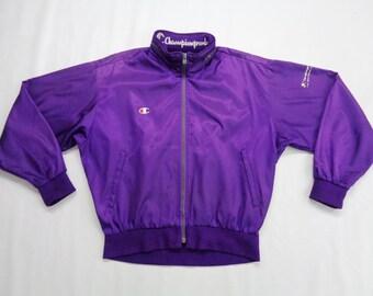 Spoliner Jacket Vintage Spoliner Over Print Fleece Jacket Size ML