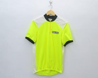 PEARL IZUMI Shirt Vintage 90 s Pearl Izumi 100% Polyester Cycling Shirt  Jersey Size XL 560547acd