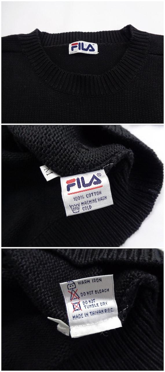 Fila Sweatshirt Vintage Fila Pullover 90s Fila Pu… - image 7
