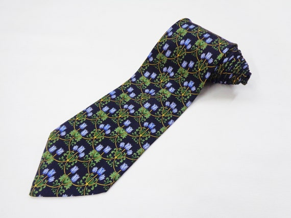 Nina Ricci Tie Vintage Nina Ricci Silk Necktie Nin