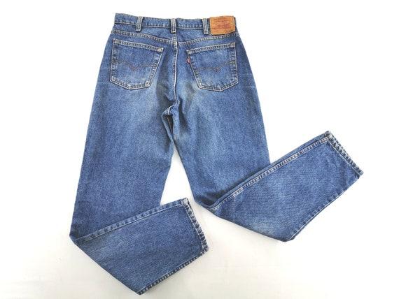 Levis 610-0217 Jeans Distressed Vintage Size 34 L… - image 1