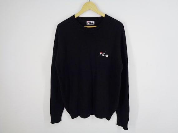 Fila Sweatshirt Vintage Fila Pullover 90s Fila Pu… - image 1