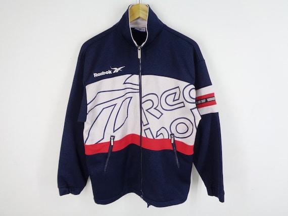Reebok Jacket Vintage Reebok Track Jacket 90s Reeb