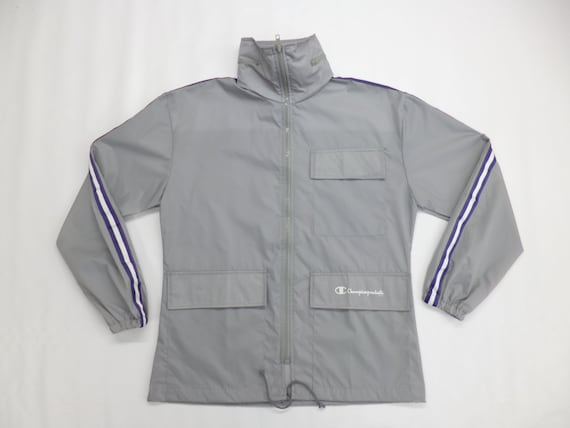 Champion Jacket Vintage 90s Champion Windbreaker C