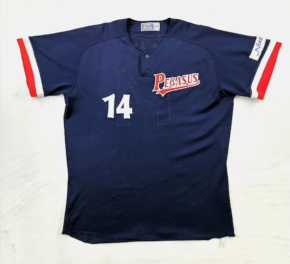 Pegasus Jersey Vintage Size 2XO Pegasus Baseball J