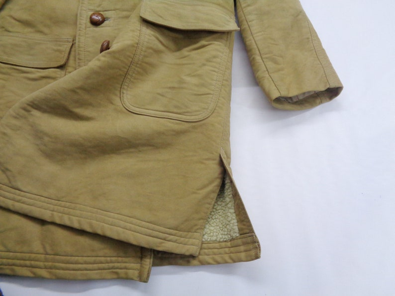VAN Jac Jacket VAN Jac Sherpa Jacket Vintage 80/'s Van Jac Long Jacket Winter Jacket Size S
