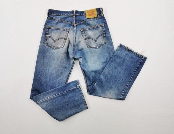 Levis 512 Jeans Distressed Size 32 Levis Denim Pan