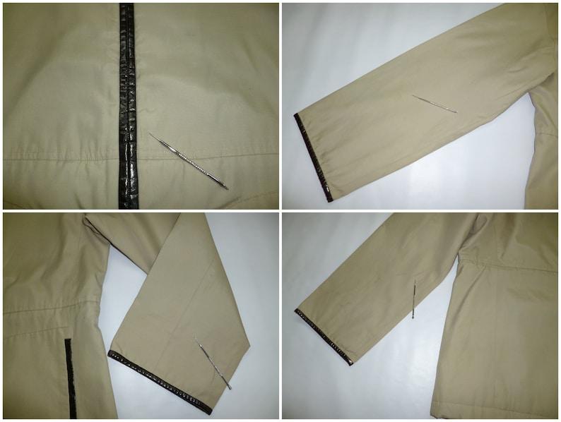 Evex by Krizia Jacket Vintage Size 40 Krizia Windbreaker 90s Evex by Krizia Zipped Up Jacket Women/'s Size ML