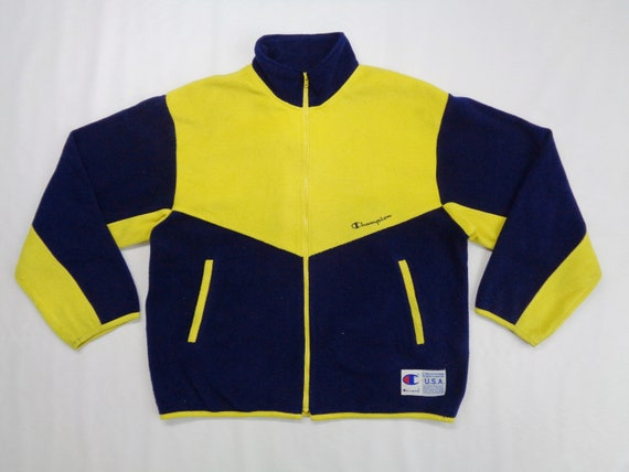 Champion Jacket Vintage Champion Fleece Jacket Vin