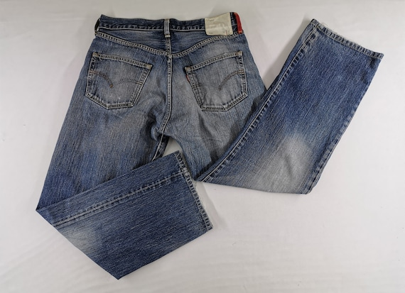 Levis 510 Jeans Distressed Size 33 Levis 510 Denim