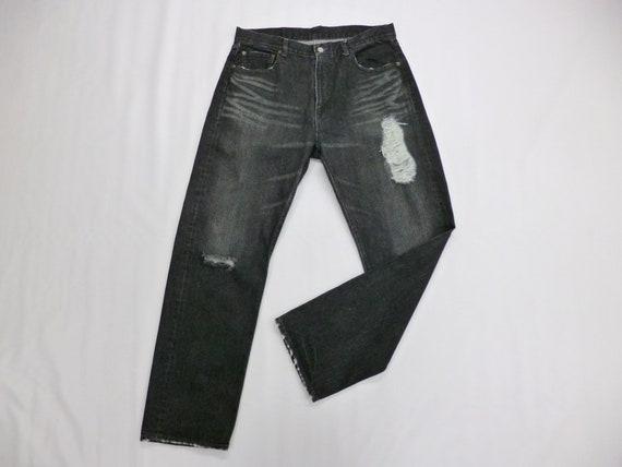 Futura Jeans Futura Laboratories Denim Black Pants