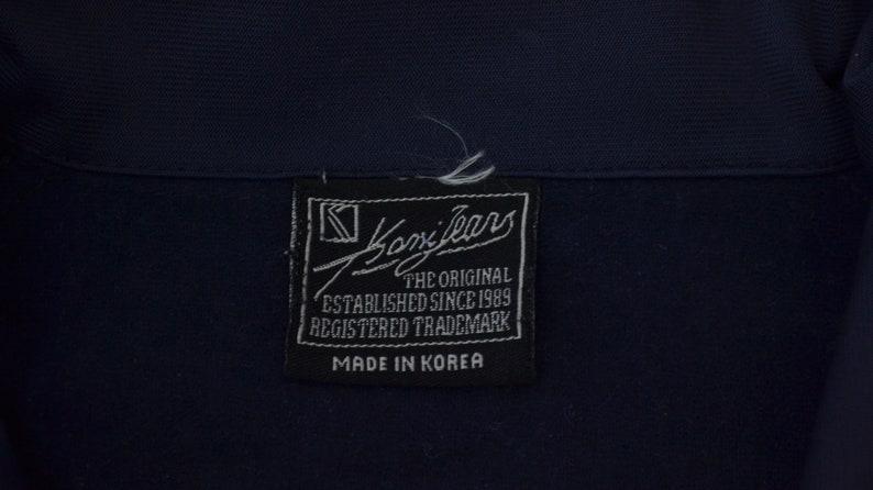 Karl Kani Jeans Jacket Karl Kani Track Jacket Karl Kani Jeans Taped Logo Spellout Track Top Training Jacket Activewear Size L