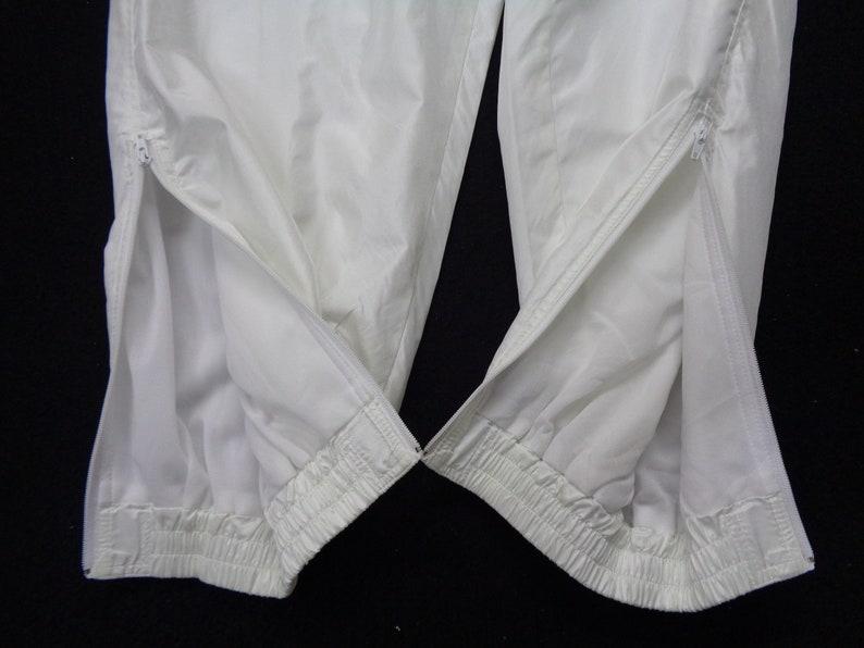 Prince Track Pants Vintage 90/'s Prince Tennis USA Flag Logo Tracksuit Prince Track Bottom Activewear Waist 28-36x29 Size L