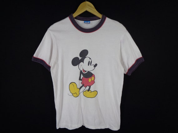 Mickey Mouse Shirt Vintage Mickey Mouse T Shirt 80