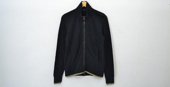 Paul Smith Jacket Vintage Paul Smith Black Zipped
