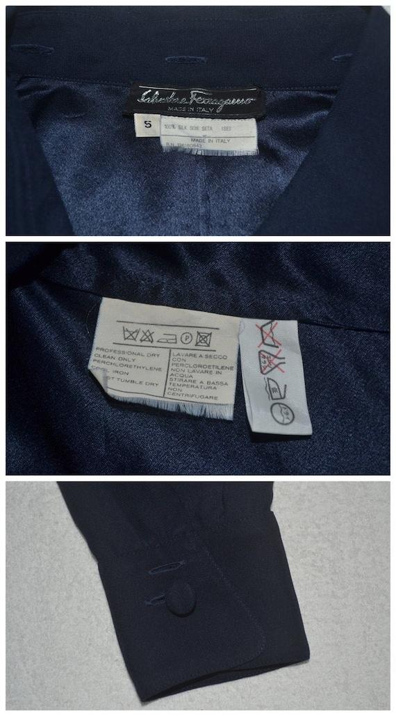 Salvatore Ferragamo Shirt Vintage Salvatore Ferra… - image 4