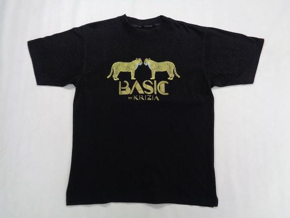 Krizia Shirt Krizia T Shirt Basic By Krizia Leopar