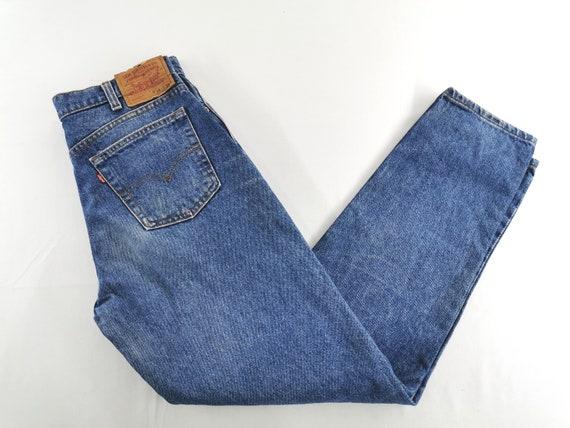 Levis 610-0217 Jeans Distressed Vintage Size 34 L… - image 3