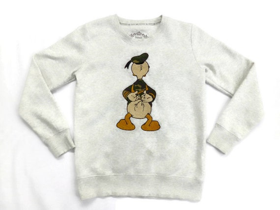 Donald Duck Sweatshirt Disneyland Donald Duck Pull