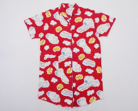 Snoopy Pajama Vintage Snoopy Shirt Vintage Snoopy