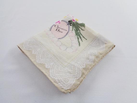 Christian Dior Handkerchief Vintage Christian Dior