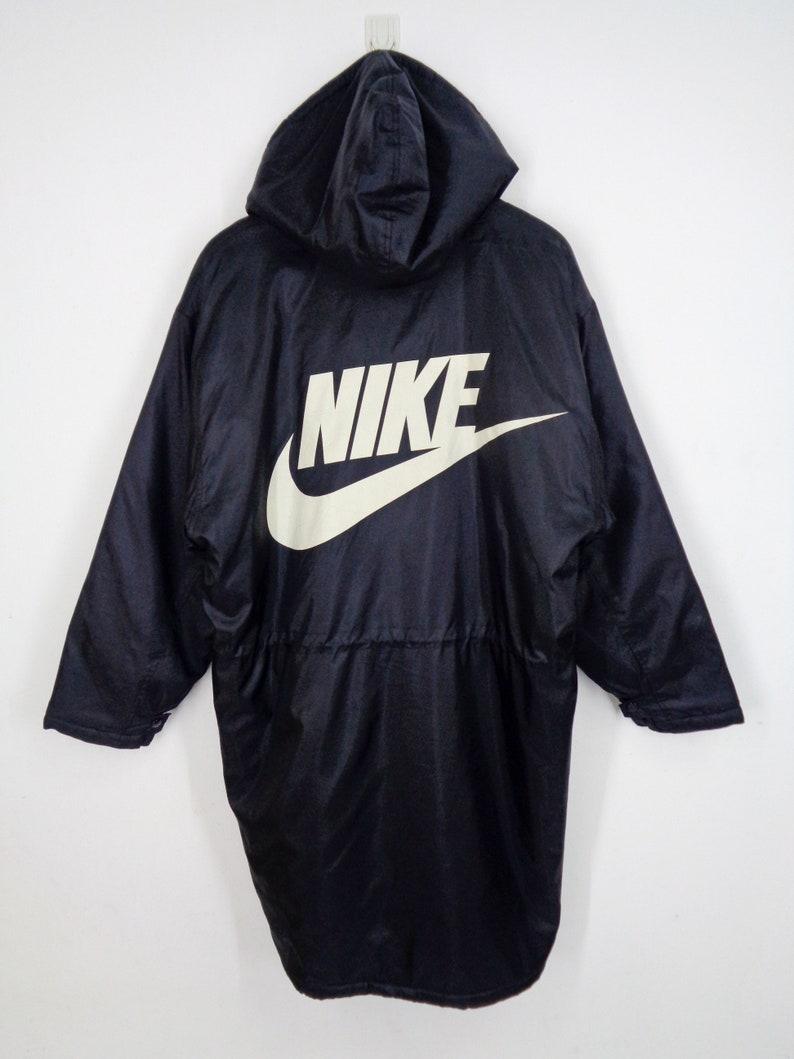 023454070dc0 NIKE Swoosh Parka Jacket Vintage 90 s Nike Swoosh Big Logo