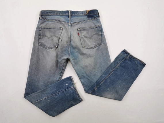Levis 501 Jeans Distressed Destroy Vintage Levis 5