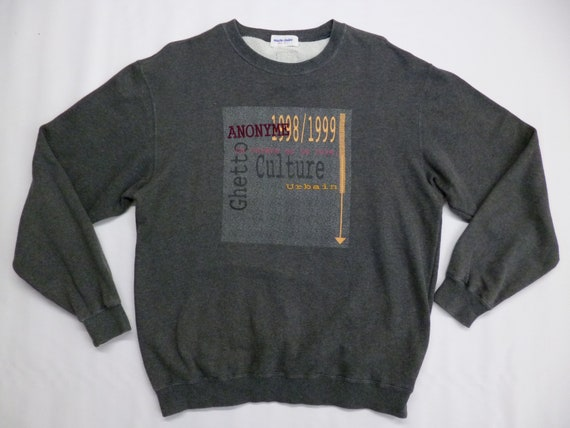 Marie Claire Sweatshirt Vintage 90's Marie Claire