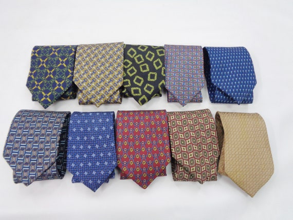 Lot 10 Fendi Tie Vintage Fendi Silk Necktie Fendi