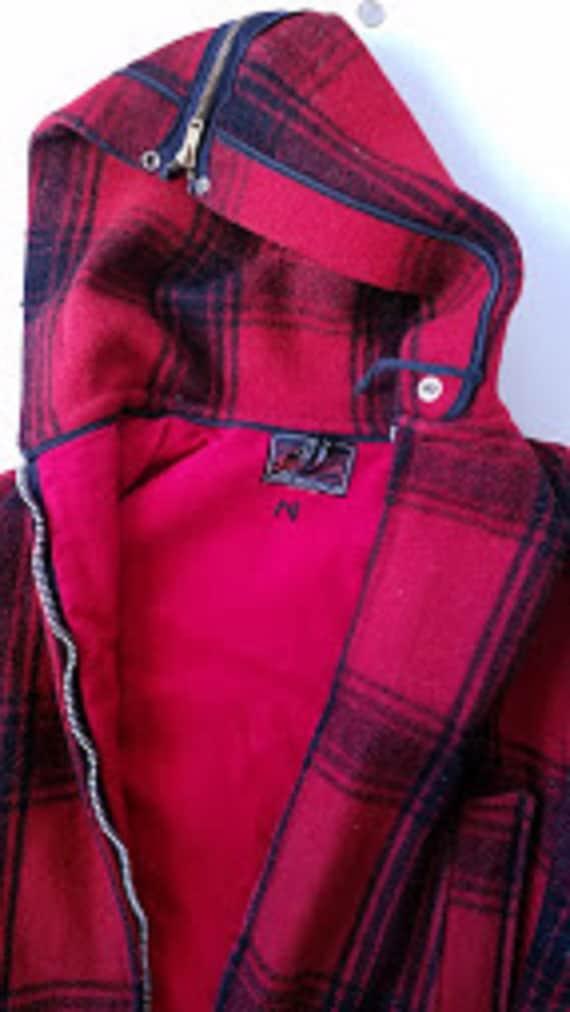 Johnson Woolen Mills Coat and Pant Set Red Black P