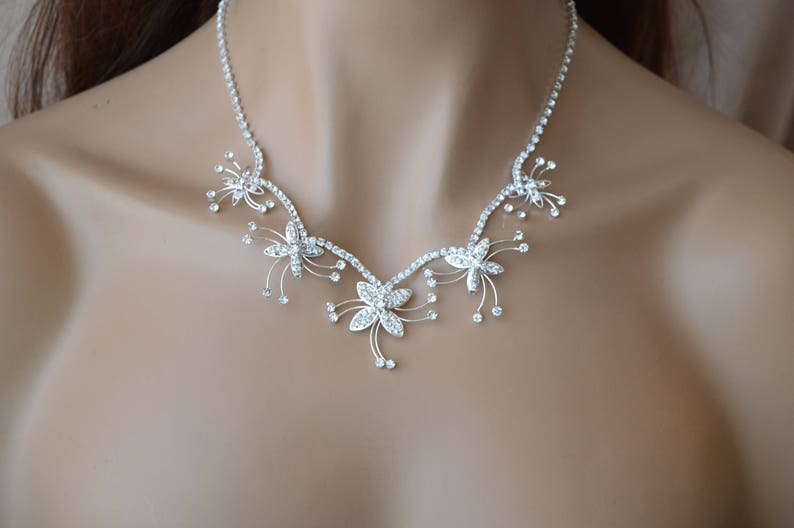 Set of Moonlight,Bridal jewelry Set,Bridesmaid Jewelry Set,Bridesmaid Gift Set,Bridal earrings.