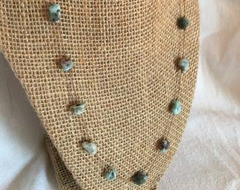 Floating Larimar Necklace